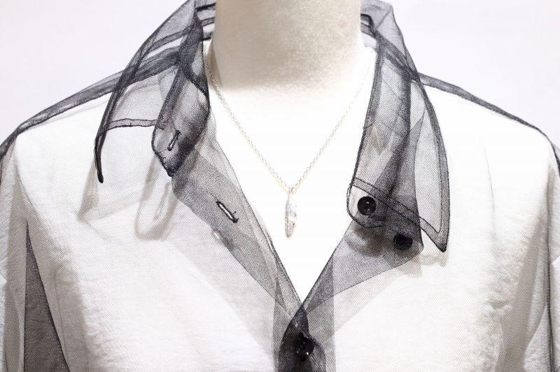 千年フェザー(S2ダイヤ)ネックレス『チェーン40cm』