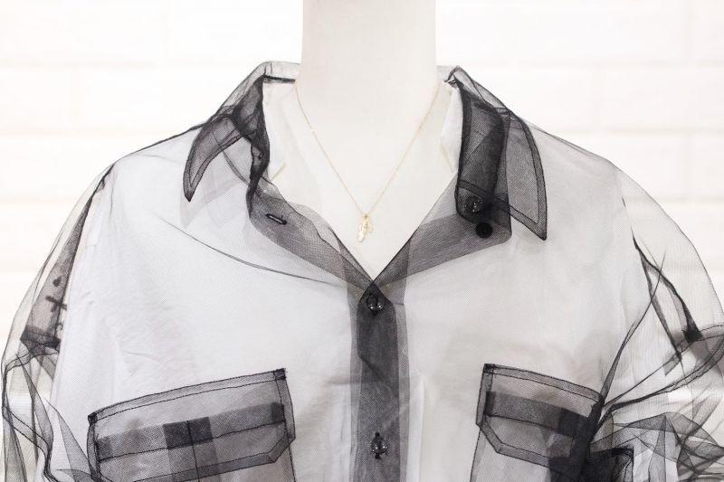 ネックレス全長40cm・トルソー着用画像