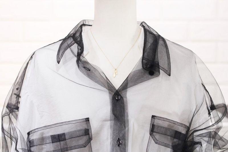 ネックレス全長42cm・トルソー着用画像